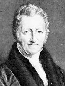 British Scholar Thomas Albert Malthus
