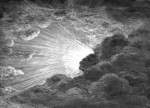 Creation of Light by Gustave Dore