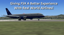 Making FSX - Flight Simulator Better With Real World Airlines