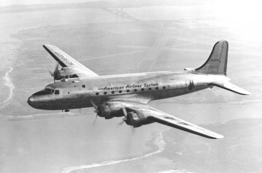 DC-4 Airliner