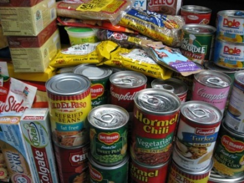 Keep food supplies stocked