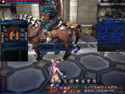Tera Online Equipment Slots