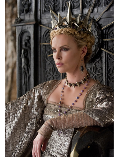 Charlize Theron stars as the Queen of Mean in Snow White and the Huntsman
