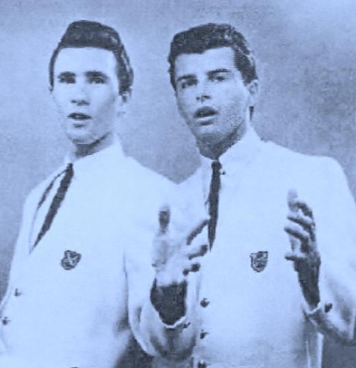 BILL MEDLEY(left)   and   DON FIDUCCIA  —                circa-1959