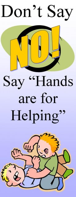 Give useful information instead of saying no.