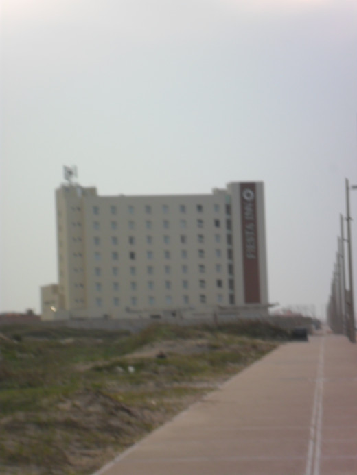 Fiesta Inn along the Gulf of Mexico coast, Coatzacoalcos, Veracruz, Mexico