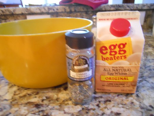 ingredients for egg casserole