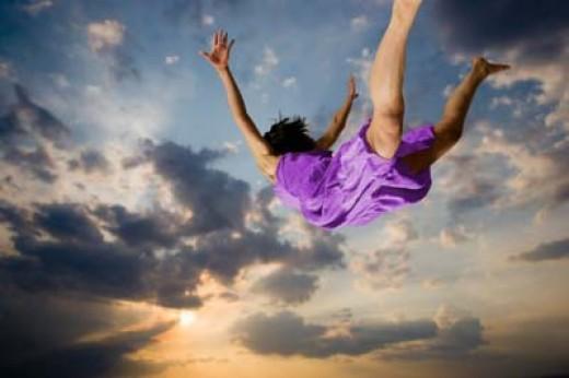 I'm flying! I am flying!