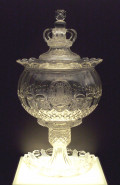 A bunch bowl from the Spanish Royal House, 1830 (Baccarat manufactory)