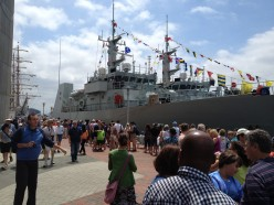 Baltimore Sailabration: Navy Ships and Sailboats in Baltimore