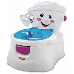 Don't you wish you had a singing potty?