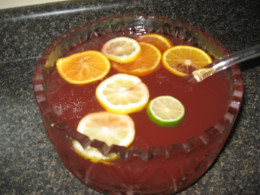 one of my easy punch recipes