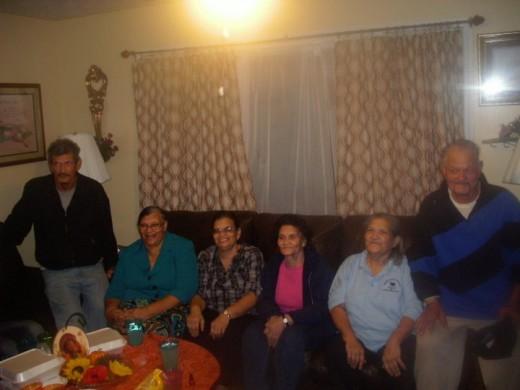Uncle Ben, Aunt Nancy, Aunt Ruth, Aunt Alean, Aunt Sarah, and Uncle Charlie