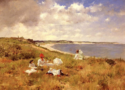 Painting by William Merritt Chase - from the Shinnecock works.