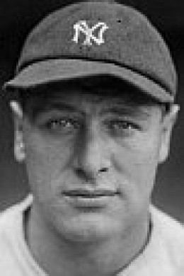 The immortal Lou Gehrig