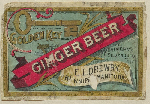 From a collection of beer labels, stationery and Canadian breweriana donated by Lawrence C. Sherk.