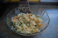 Healthy Kohlrabi Slaw