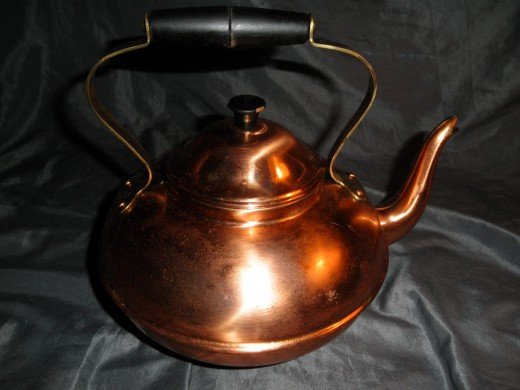 Vintage Copral copper kettle that I sold on Ebay