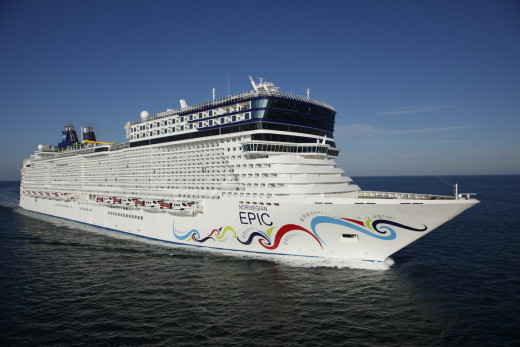 The awesome Norwegian Epic