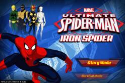 Spider-Man Games: Ultimate Spider-Man Iron Spider & Cyber Sabotage