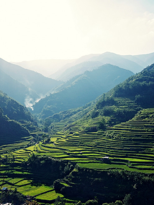 Banaue Rice Terraces by the Ifugao People of the Philippines