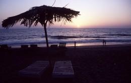 Sunset on a Goa Beach