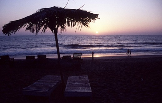 Sunset on a Goa Beach