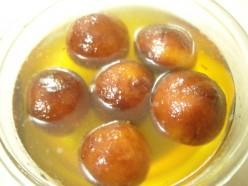Asian dessert recipe; gulab jamuns
