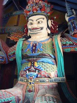Icon at Tongdosa temple