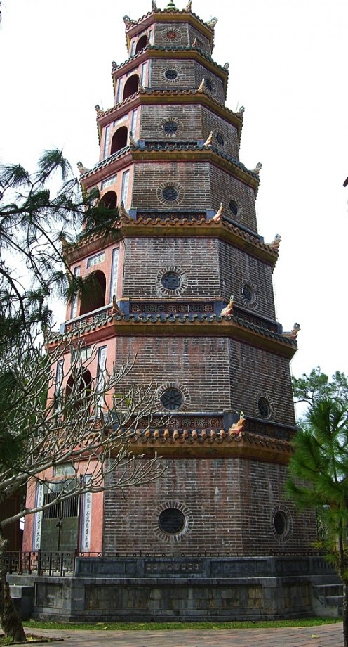 A Structure in Hue, Vietnam