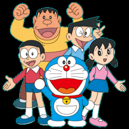 Popular cartoon Doraemon