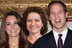 William, Sunshine and Kate...feeling a bit regal.