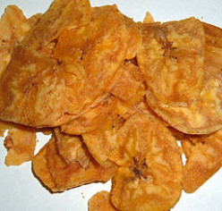 How To Make Healthy Plantain Chips - Oven Baked Style