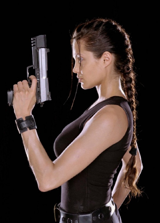Angelina's most famous movie - Tomb Raider