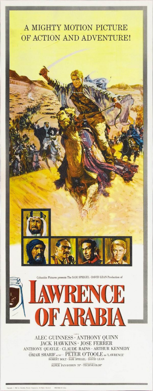 Lawrence of Arabia (1962) poster art by Howard Terpning