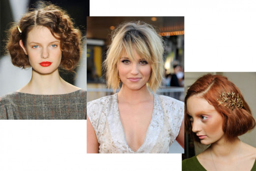 Short Bobs - Top 10 Fall 2012 Trends