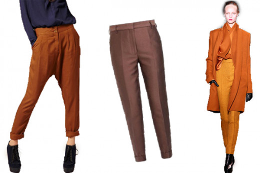 Tailored Pants - Top 10 Fall 2012 Trends