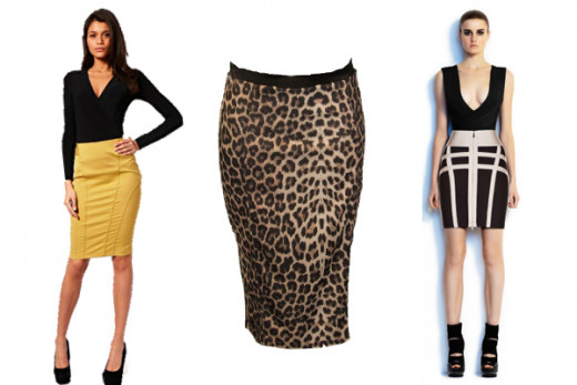 Pencil Skirts - Top 10 Fall 2012 Trends