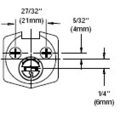 Rim Cylinder Back Plate