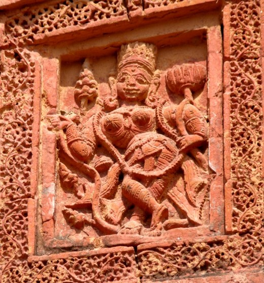 Goddess Lakshmi; Raghunath temple