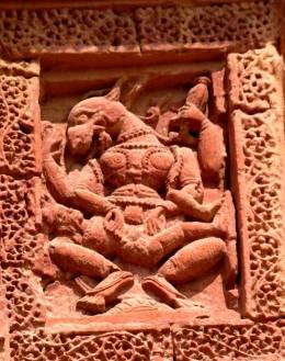NRISINGHAVATAR : Lord Vishnu as half-man half-lion; Raghunath temple