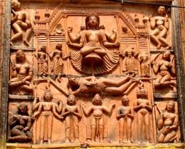Front facade of Lakshmi Narayan temple, Ghurisa