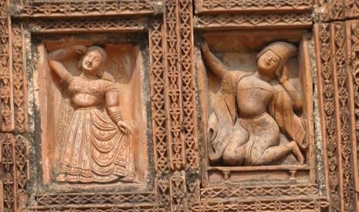 Musicians;  Lakshmi Narayan temple, Ghurisa