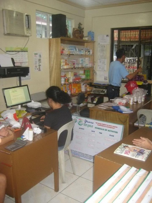 How busy are the members of Don Galo Credit Cooperative, Inc. Are they practicing the Principles of Kaizen? (All photos by Travel Man)