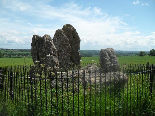 The Whispering Knights at the Rollright Stones