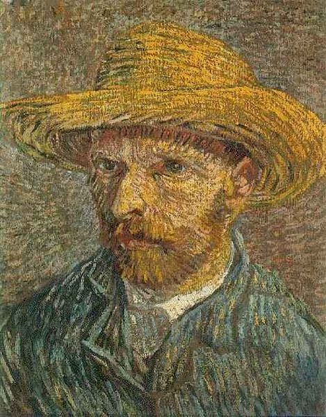 Self-portrait by Vincent van Gogh  1887