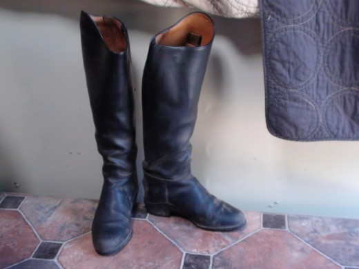 Dress Boots, these are pull-on type
