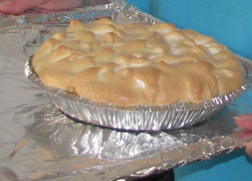 Meringue Key Lime Pie