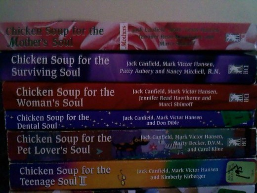 Chicken Soup for the Soul series. Which one is your favorite?