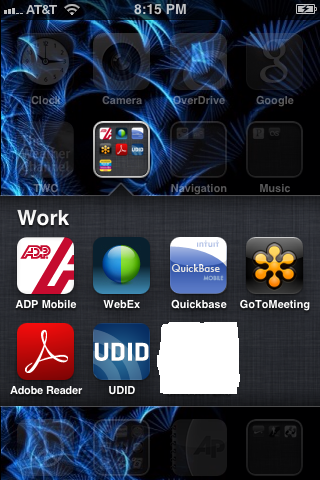 Install the UDID Sender app to your device, and then tap the app to launch it.
